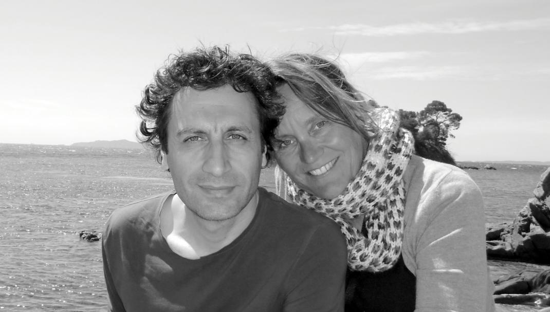 Ester Mann et Lévon Minassian, auteurs du livre « Le fil des anges ».