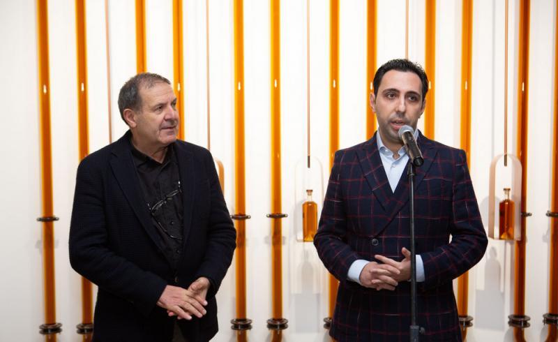 Zaven Khatchikian (à gauche) et Arno Tadevosyan